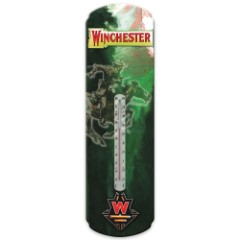 Winchester Horse And Rider Thermometer