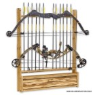 Bow And Arrow Wall Rack With Storage