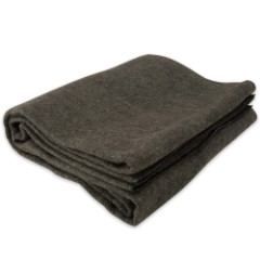 Military Surplus Gray Blanket