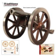 Mini Napoleon Hardwood Cannon Kit