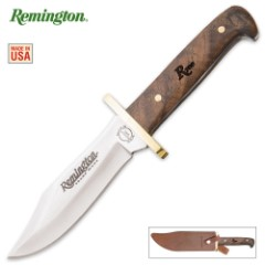 Heritage Line Baby Bowie Knife With Walnut Shotgun Stock Handle