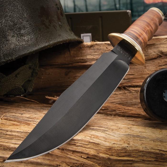 MACV-SOG Vietnam Military Knife & Sheath | BUDK.com