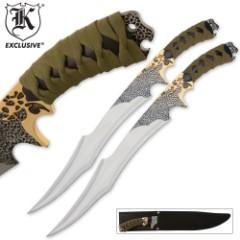 Twin Swords - Display Sets, Ninja Swords, Tactical Swords, Double