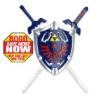 Zelda Shield and Twin Swords Set - BOGO