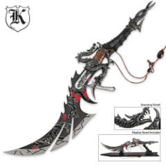 Piercing Dragon Death Ray Sword With Display