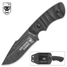 SOA Revenge Fixed Blade Knife with Molded Kydex Sheath