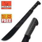 Gavilan Corneta Textured ABS Handle Machete - BOGO