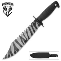 Bushmaster Barbarian Urban Camo Combat Knife with Nylon Sheath