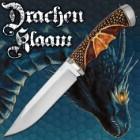 Drachen Klaaw Fixed Blade Knife - Dragon Scale Handle, Dragon Wing Grip