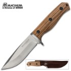 Boker Magnum Zebra Drop Point Fixed Blade Knife