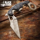 Black Legion Camouflage Folding Karambit