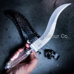 """13"""" CRYSTAL TACTICAL KNIFE Survival Hunting MILITARY BOWIE DAGGER Fixed Blade"""