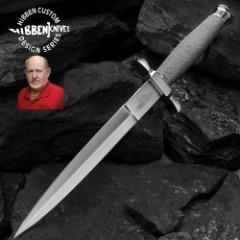 Gil Hibben Silver Shadow Dagger Knife