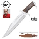 United Cutlery Gil Hibben III Bowie Knife & Leather Sheath