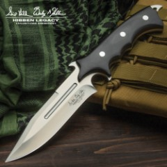 United Cutlery Hibben Legacy Combat Fighter Knife with Leather Sheath