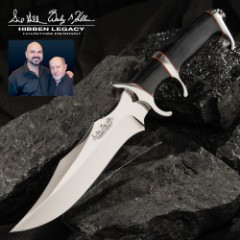 Hibben Legacy III Fighter Knife With Sheath
