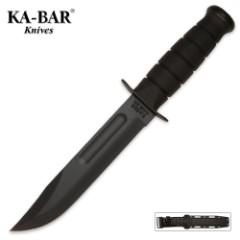 KA-BAR Classic Marine Knife Black & Sheath
