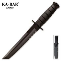 KA-BAR Classic Tanto Knife Black & Sheath