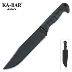 KA-BAR Bowie Knife Heavy with Sheath
