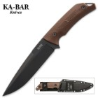 "KA-BAR Jesse Jarosz ""Turok"" Fixed Blade Knife with Sheath"