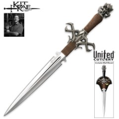 Kit Rae Deaths Head Dagger & Wall Plaque