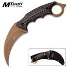MTech Xtreme Karambit Style Knife With Sheath