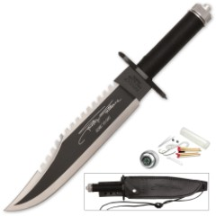 Rambo II Stallone Signature Edition Knife With Survival Kit