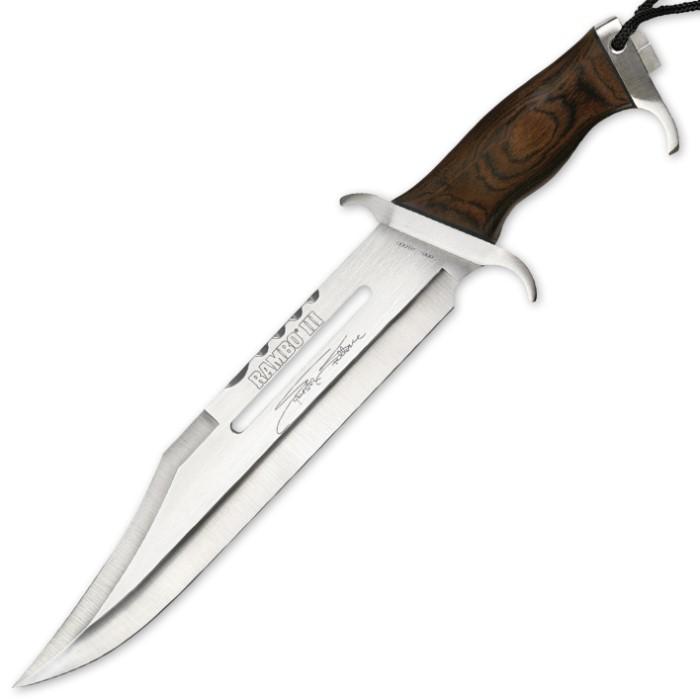 Rambo III Stallone Signature Edition Knife   BUDK.com ...