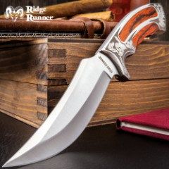 Ridge Runner Executive Wooden Bowie Knife