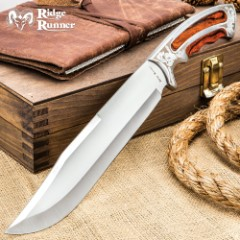 Ridge Runner Ambassador Bowie Knife with Sheath