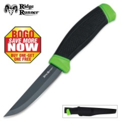 Ridge Runner Apocalypse Dive Knife with Sheath 2 for 1