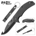 Ridge Runner Survivalist 2-Piece Assisted-Open Pocket Knife/Gut Hook Kit