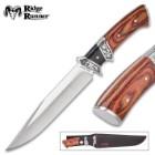 Ridge Runner Briarchase Fixed Blade Knife with Nylon Sheath