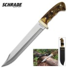 Schrade Uncle Henry Running Stag Bowie Knife