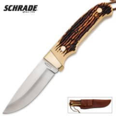 Schrade Uncle Henry Professional Hunter Fixed Blade Knife