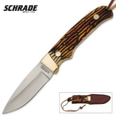 Schrade Uncle Henry Mini Professional Hunter Fixed Blade Knife