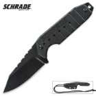 Schrade Neck Knife Black