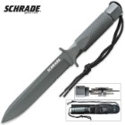 Schrade Extreme Survival Large Spear Point Fixed Blade Knife