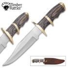Timber Rattler Buffalo Joe Bowie Knife