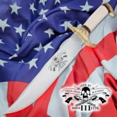 Cold Dead Hands Freedom Bowie Knife