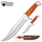Timber Rattler 2-Piece Custom Bowie Set