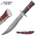 Timber Wolf Rocky Mountain Bowie Knife