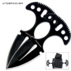 United Cutlery Undercover® Black Twin Push Daggers
