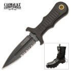 United Cutlery Sub Commander Black Mini Boot Knife