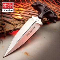 United Cutlery Large Honshu Push Dagger - Silver
