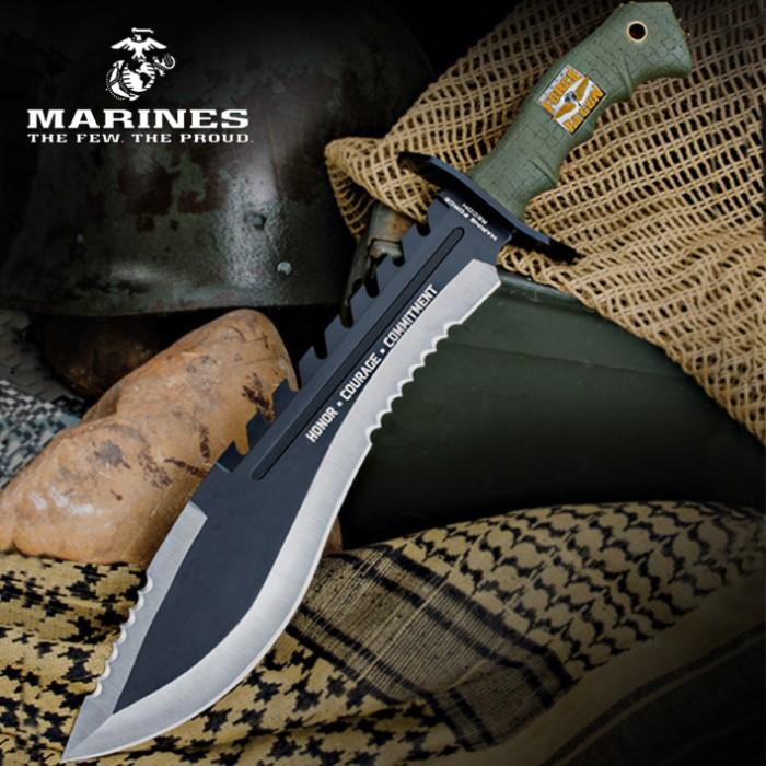 Oversized Kukri Battle Knife w/ Attitude