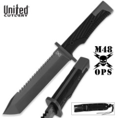 M48 Ops Combat Fighter With Sheath