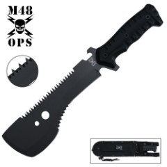 M48 Ops Tactical Sawback Smatchet Knife