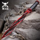 Special Limited Edition Cardinal Sin Red M48 Cyclone - 2Cr13 Stainless Steel Blade, Reinforced Nylon Handle, Stainless Steel Guard And Pommel