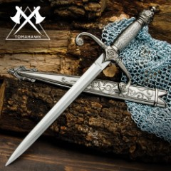 Royal Knights Dagger with Sheath